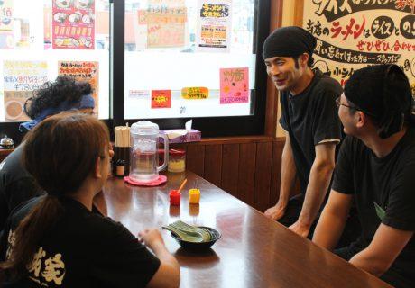 横浜家系ラーメン誠家流山店 店内の画像
