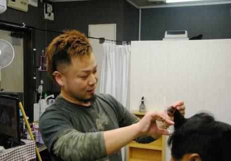 株式会社ポプラーズ様 hair cut AQUAの画像