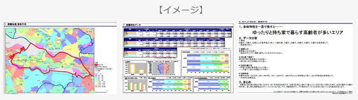 商圏分析データイメージ
