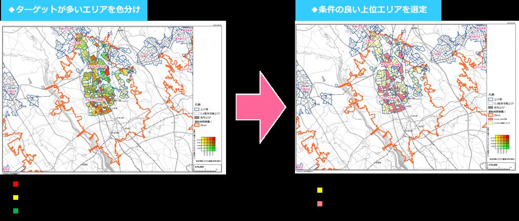 埼玉県周辺エリア ターゲット選定