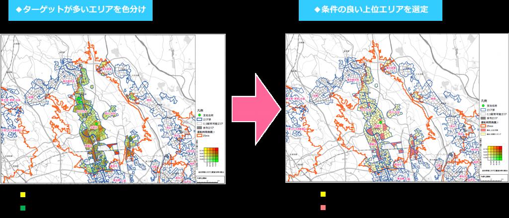 吉川市周辺エリア ターゲット選定